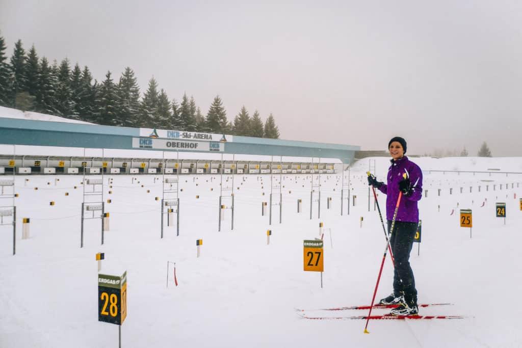 Skifahren lernen als Erwachsene #1 - Meine ersten Skierfahrungen beim Skilanglauf in Oberhof 1