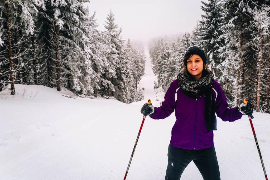 Skifahren lernen als Erwachsene #1 - Meine ersten Skierfahrungen beim Skilanglauf in Oberhof 2