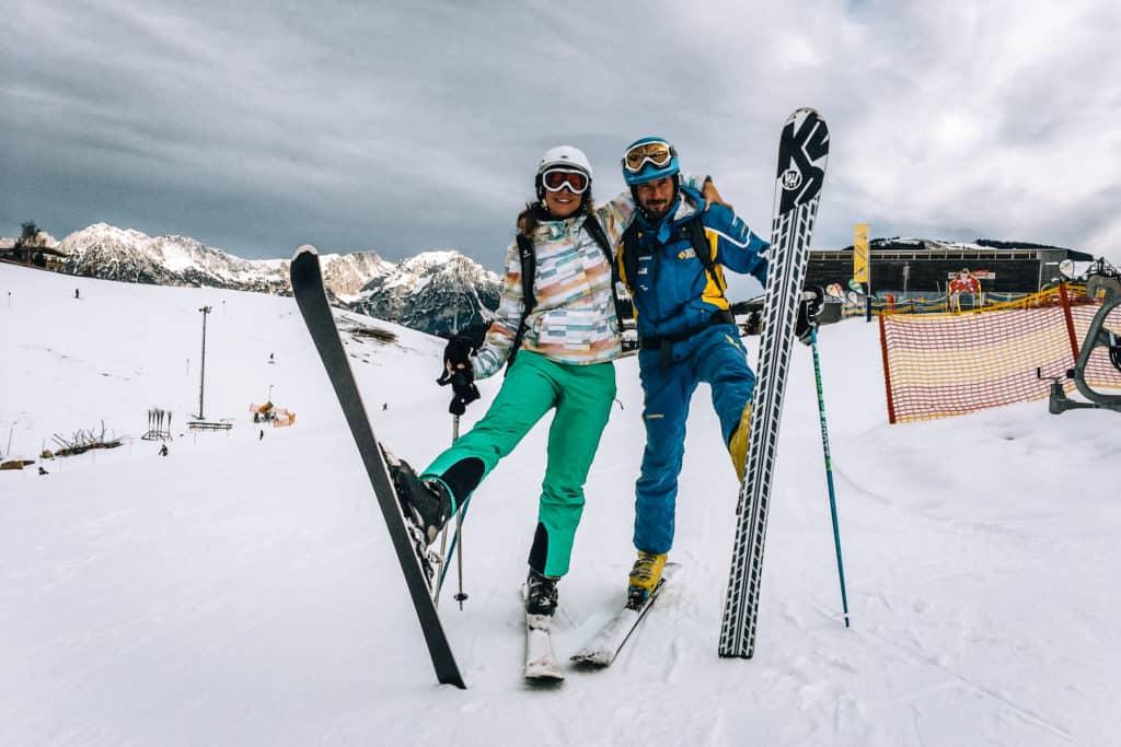 Skifahren lernen als Erwachsene #2 - Skifahren lernen in zwei Tagen am Wilden Kaiser? (Skitag 1-3) 2