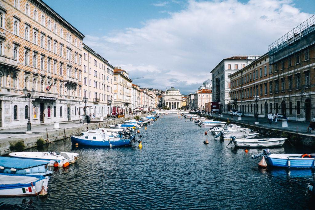 Norditalien Rundreise - Stop #5: Triest - Canale Grande