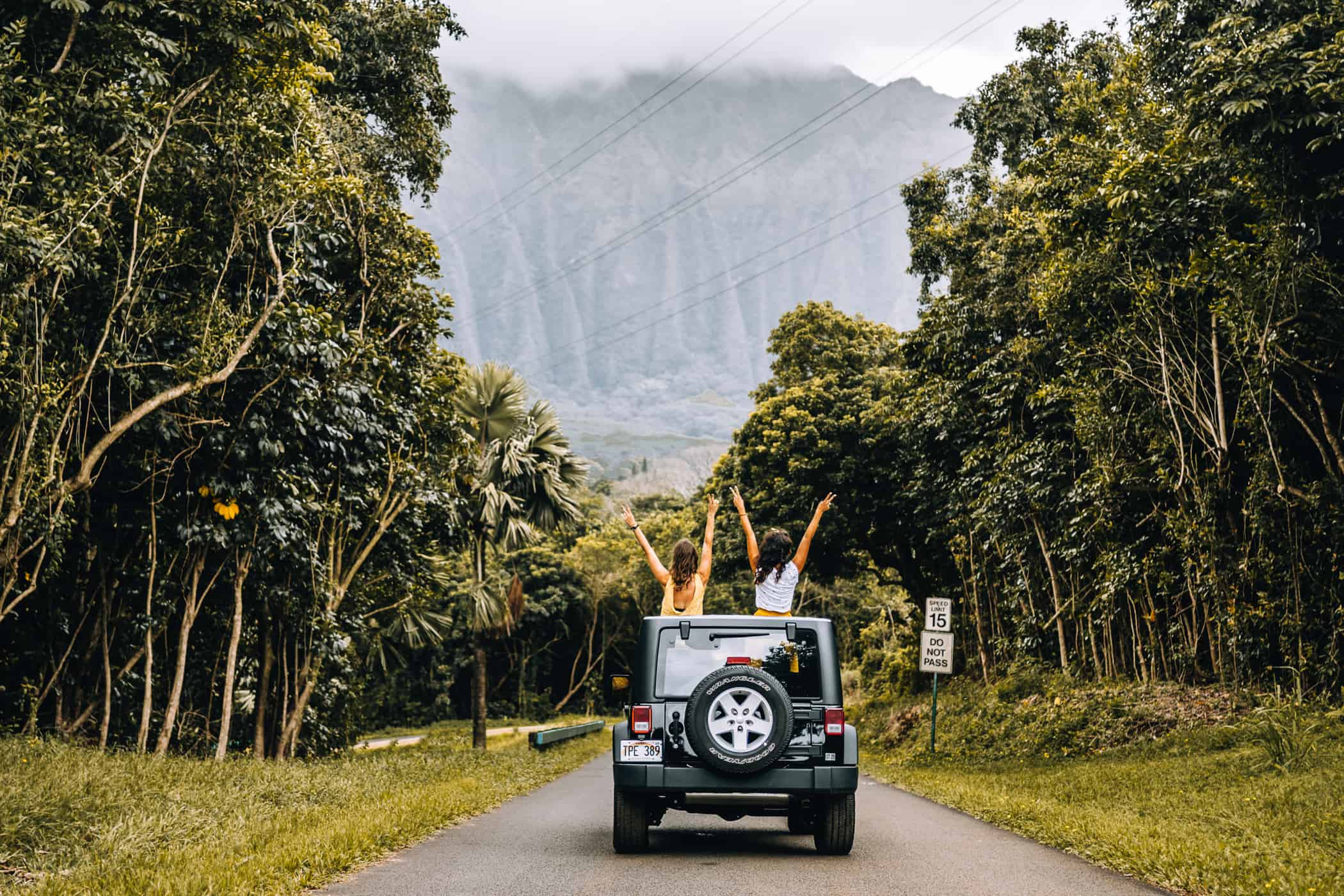 Hawaii Urlaub: Mietwagen