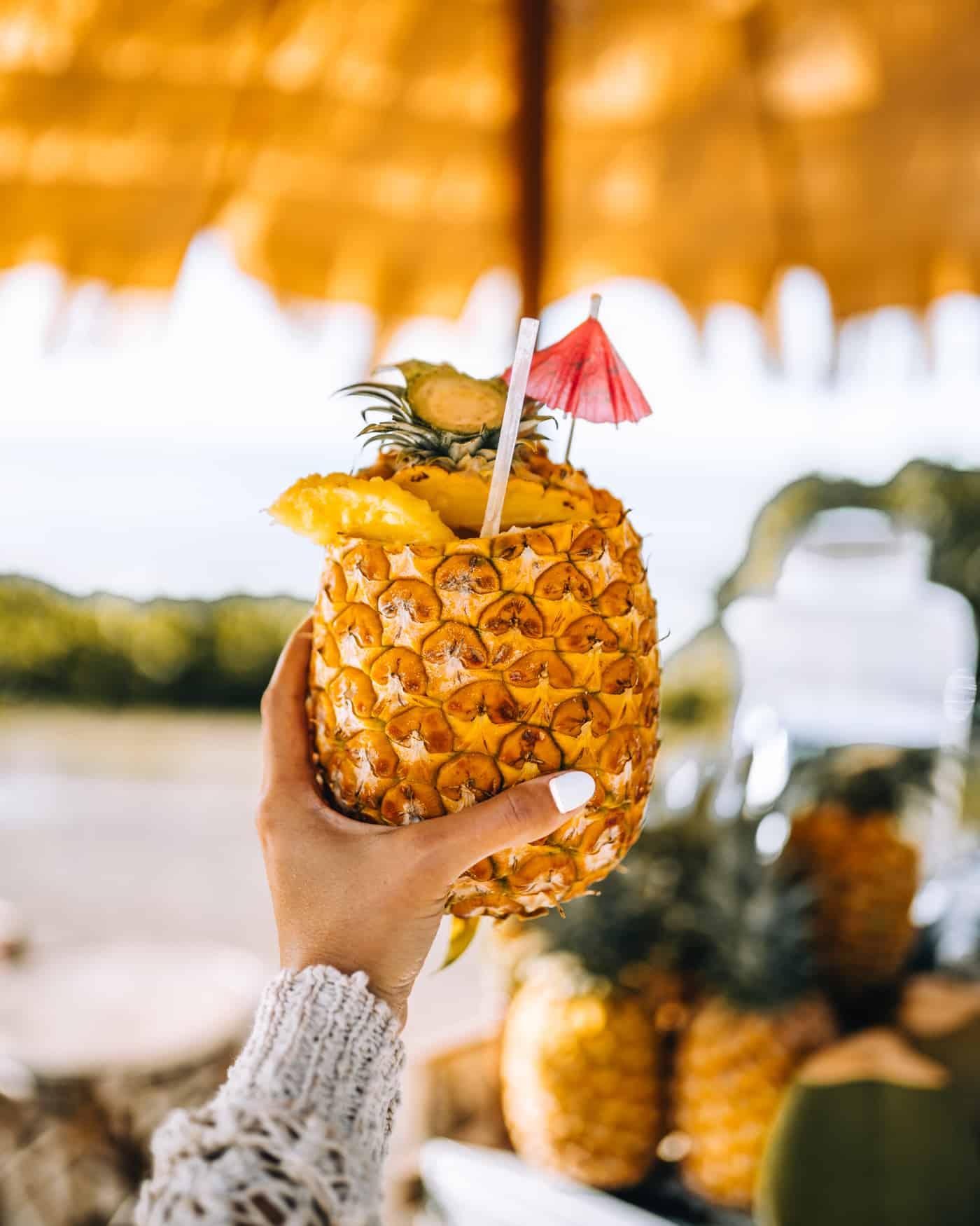 Hawaii Urlaub: Ananas