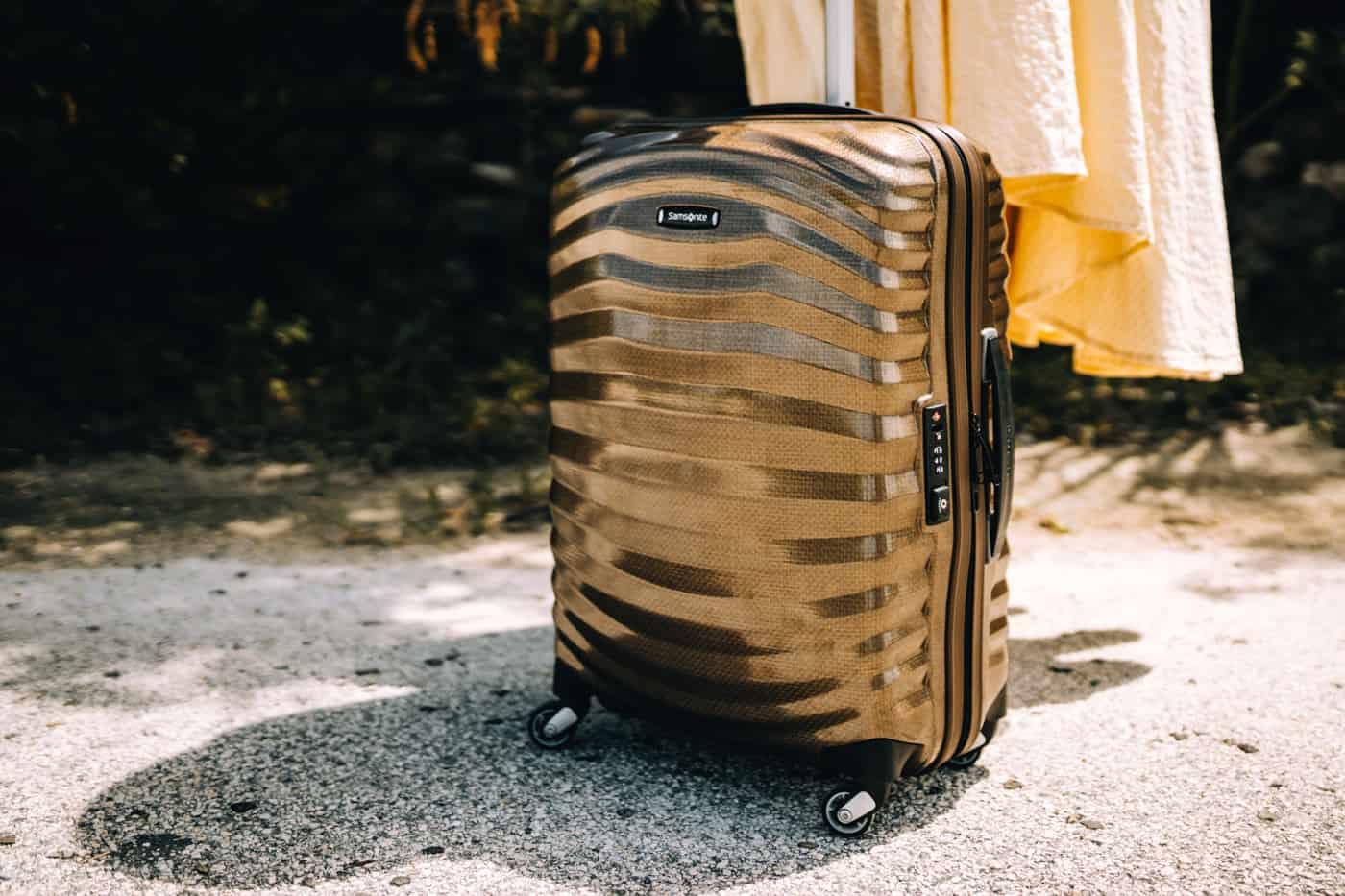 Nur mit Handgepäck reisen - mit dem Samsonite Lite Shock auf den Bahamas
