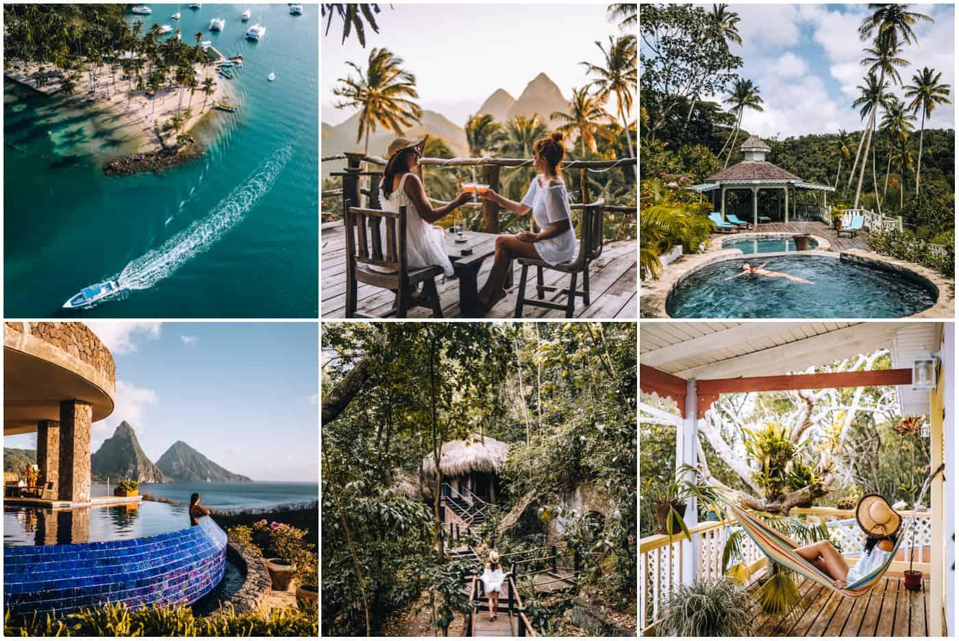9 Saint Lucia Hotel & Guesthouse Tipps für jedes Budget (65 bis 3.500 USD)