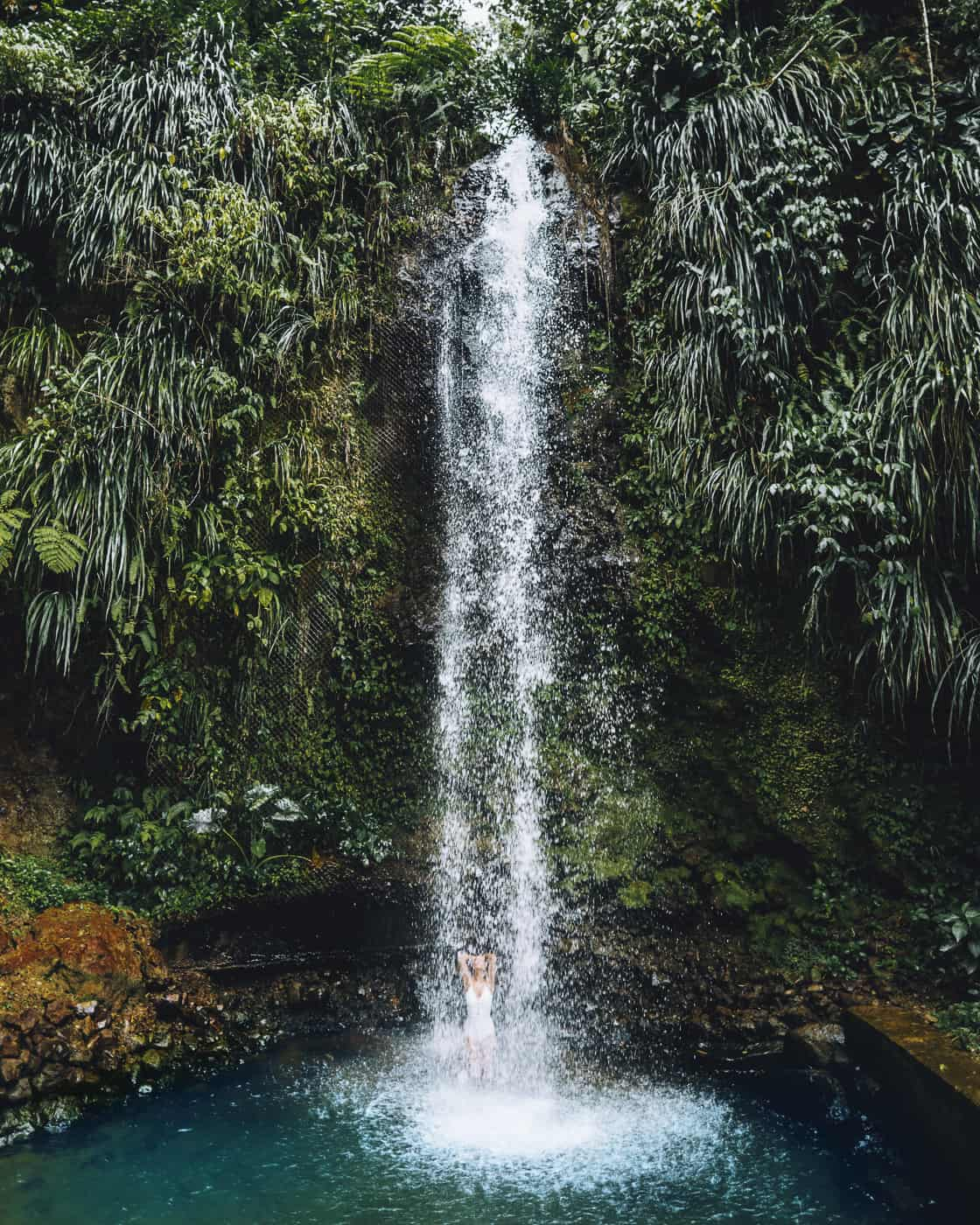 Saint Lucia - Tipps, Sehenswürdigkeiten, Strände & Ausflugsziele auf der Karibik-Insel: Toraille Waterfall