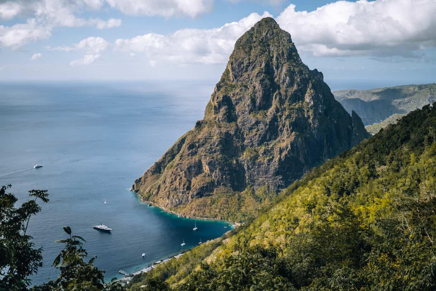 Saint Lucia - Tipps, Sehenswürdigkeiten, Strände & Ausflugsziele auf der Karibik-Insel: Tet Paul Nature Trail