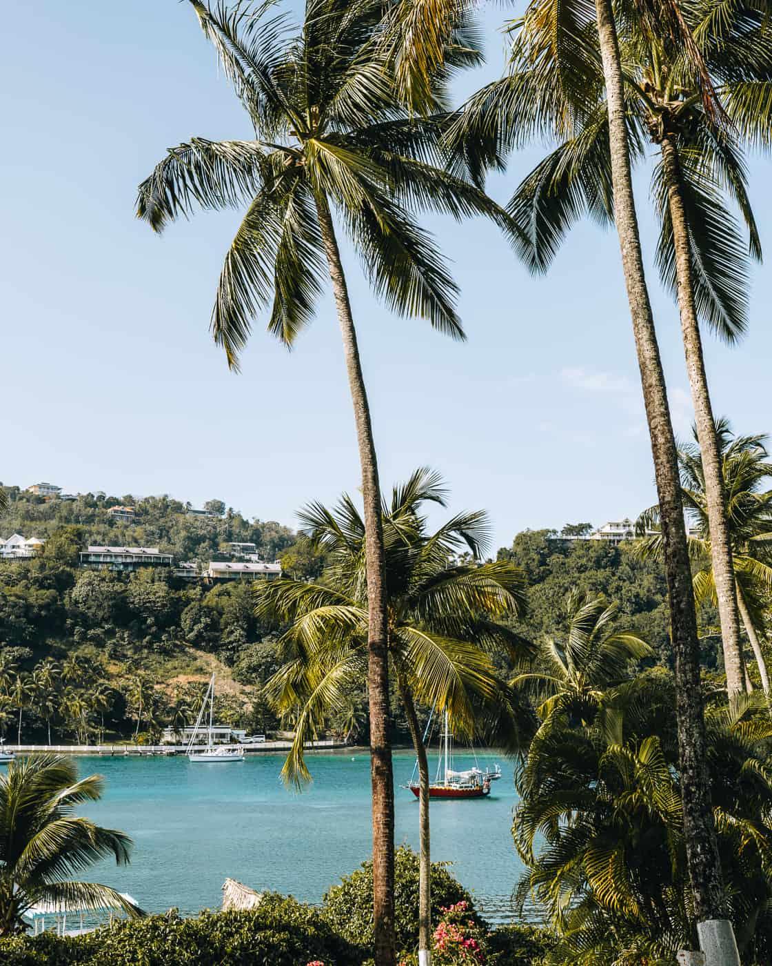 Saint Lucia - Tipps, Sehenswürdigkeiten, Strände & Ausflugsziele auf der Karibik-Insel: Marigot Bay