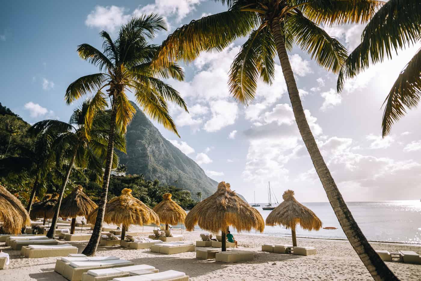 Saint Lucia - Tipps, Sehenswürdigkeiten, Strände & Ausflugsziele auf der Karibik-Insel: Sugar Beach