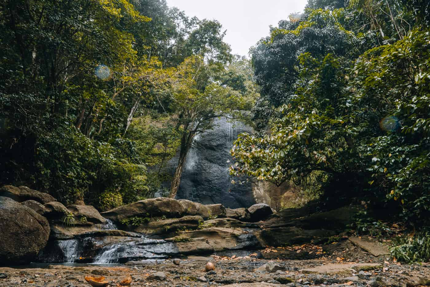 Saint Lucia - Tipps, Sehenswürdigkeiten, Strände & Ausflugsziele auf der Karibik-Insel: Sault Falls / Errard Waterfall