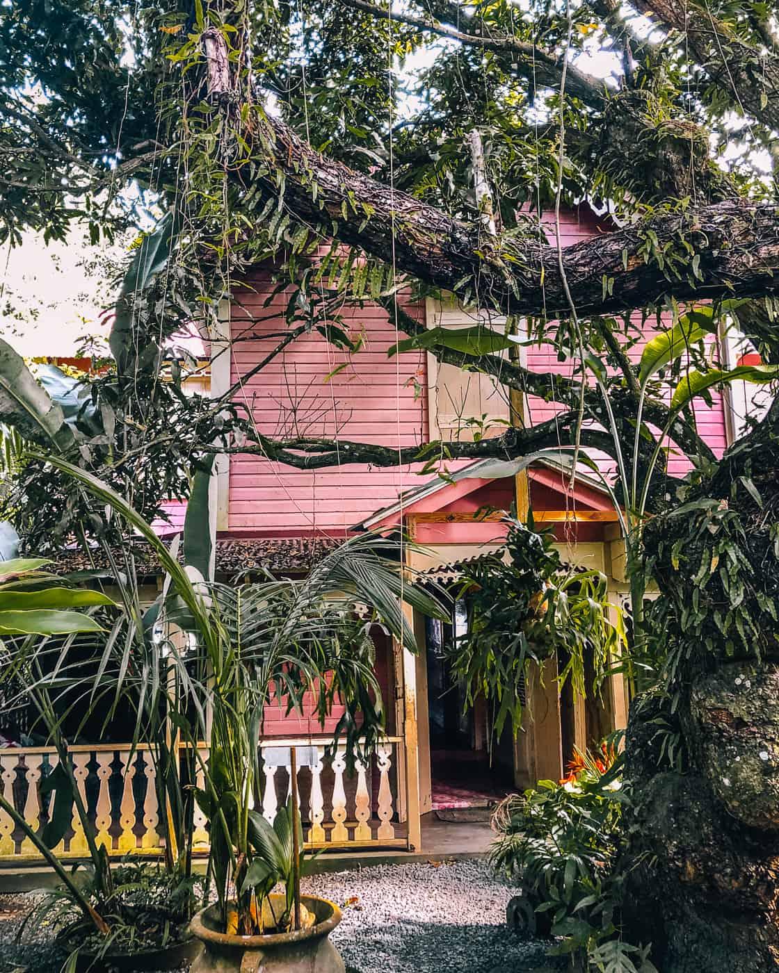 Saint Lucia - Tipps, Sehenswürdigkeiten, Strände & Ausflugsziele auf der Karibik-Insel: Pink Plantation House