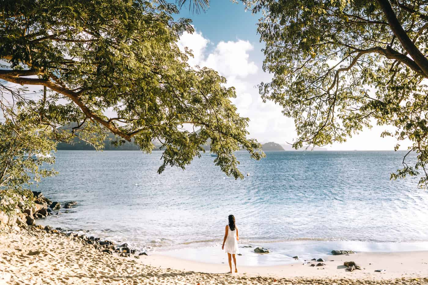 Saint Lucia - Tipps, Sehenswürdigkeiten, Strände & Ausflugsziele auf der Karibik-Insel: Pigeon Island Beach
