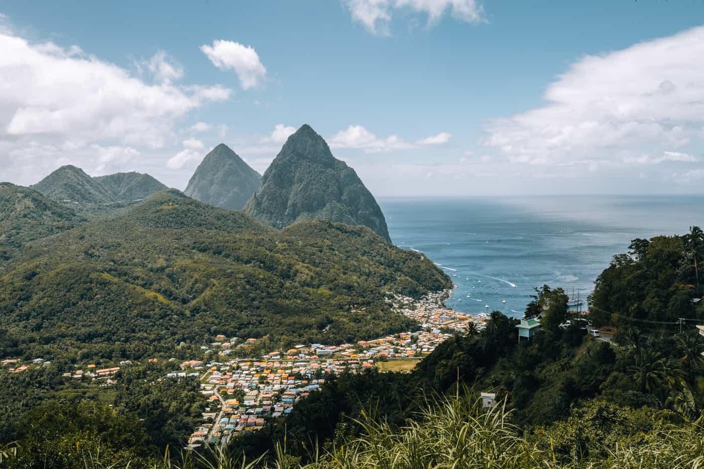 Saint Lucia - Tipps, Sehenswürdigkeiten, Strände & Ausflugsziele auf der Karibik-Insel: Soufriere