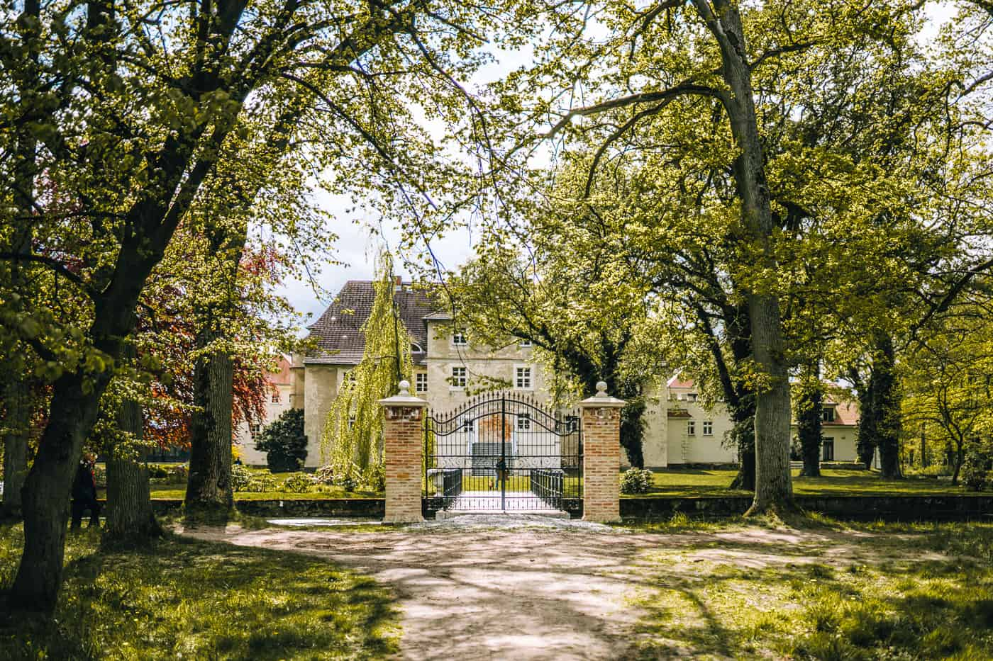 Usedom mit Hund - Inselsafari: Schloss Mellenthin