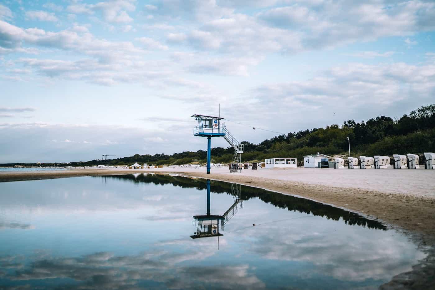 Usedom mit Hund - Kaiserbad Heringsdorf: Strand