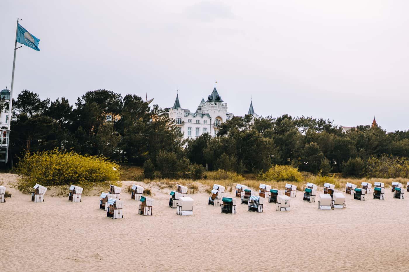 Usedom mit Hund - Zinnowitz Strand