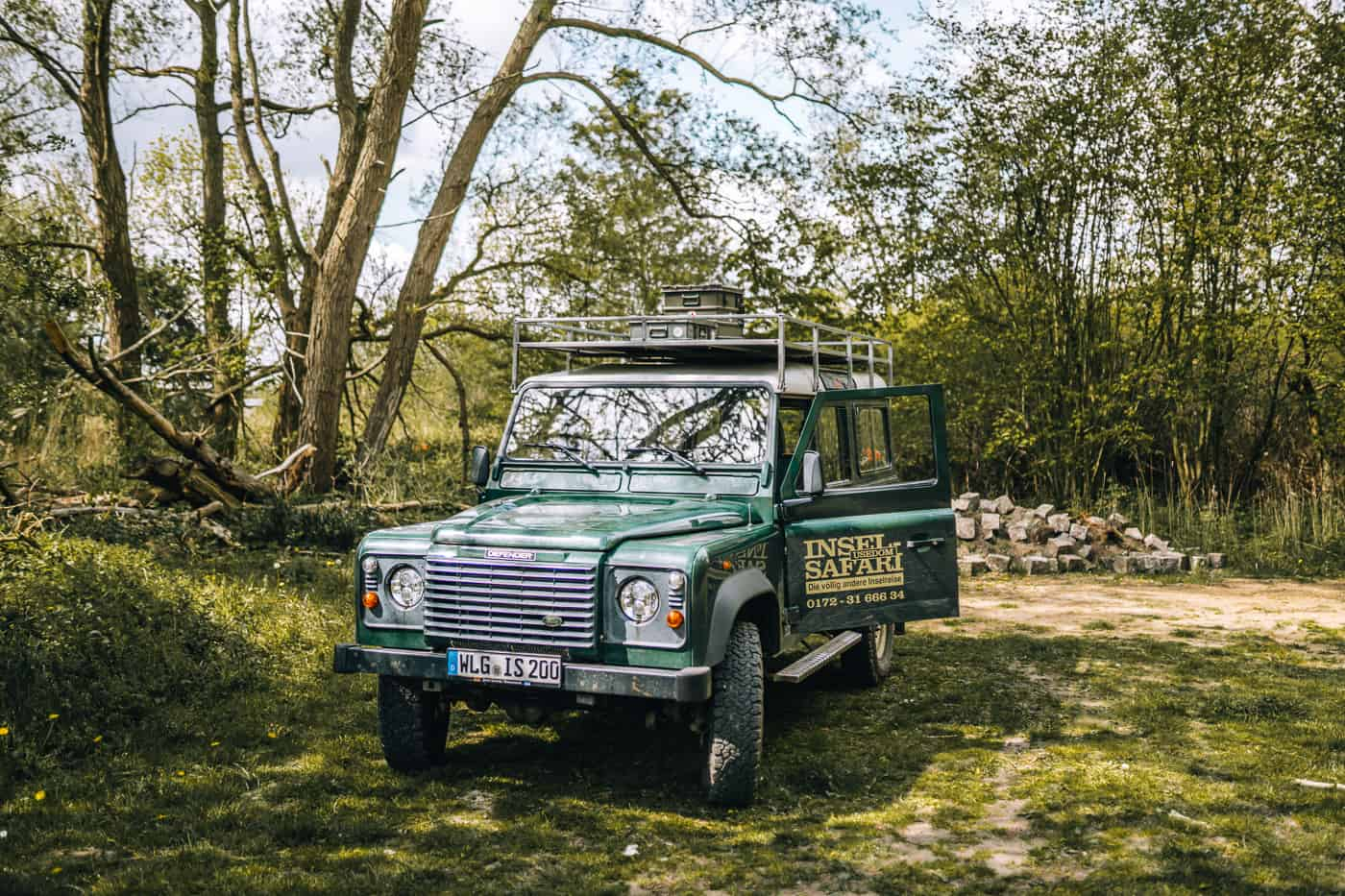 Usedom mit Hund - Inselsafari im Land Rover Defender