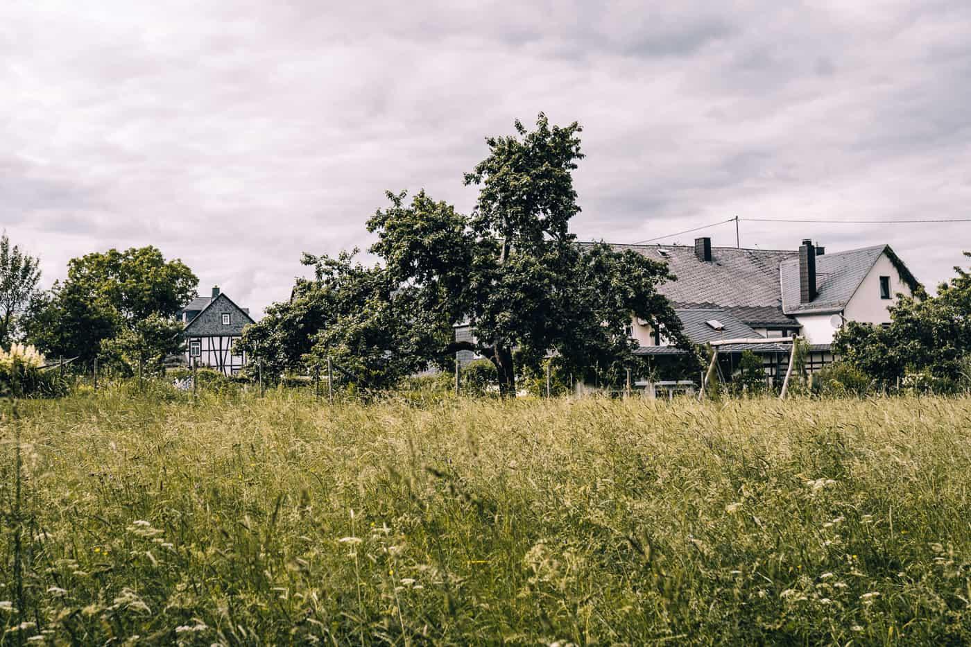 Baybachklamm Traumschleife Wanderung - Das Dorf Steffenshof