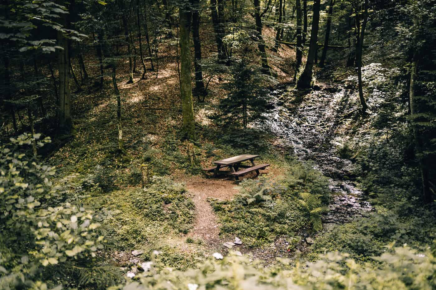 Baybachklamm Traumschleife Wanderung - Buchbachtal