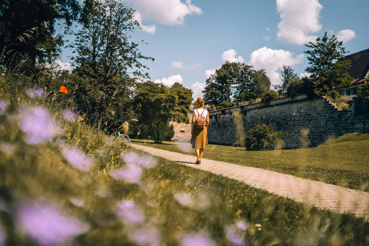 Forchheim in Oberfranken - Spaziergang an der Stadtmauer