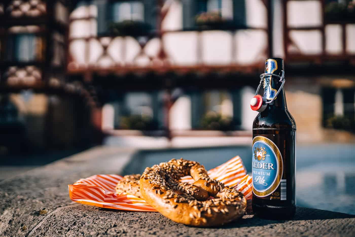 Forchheim in Oberfranken - Bierbrezel von der Bäckerei Nagel