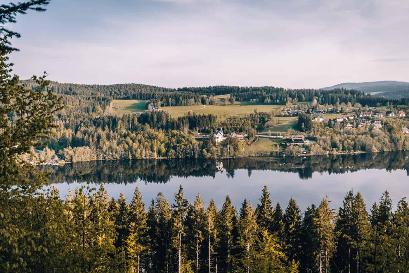 Schluchsee - Glamping Abenteuer im Hochschwarzwald: Ausflug Titisee