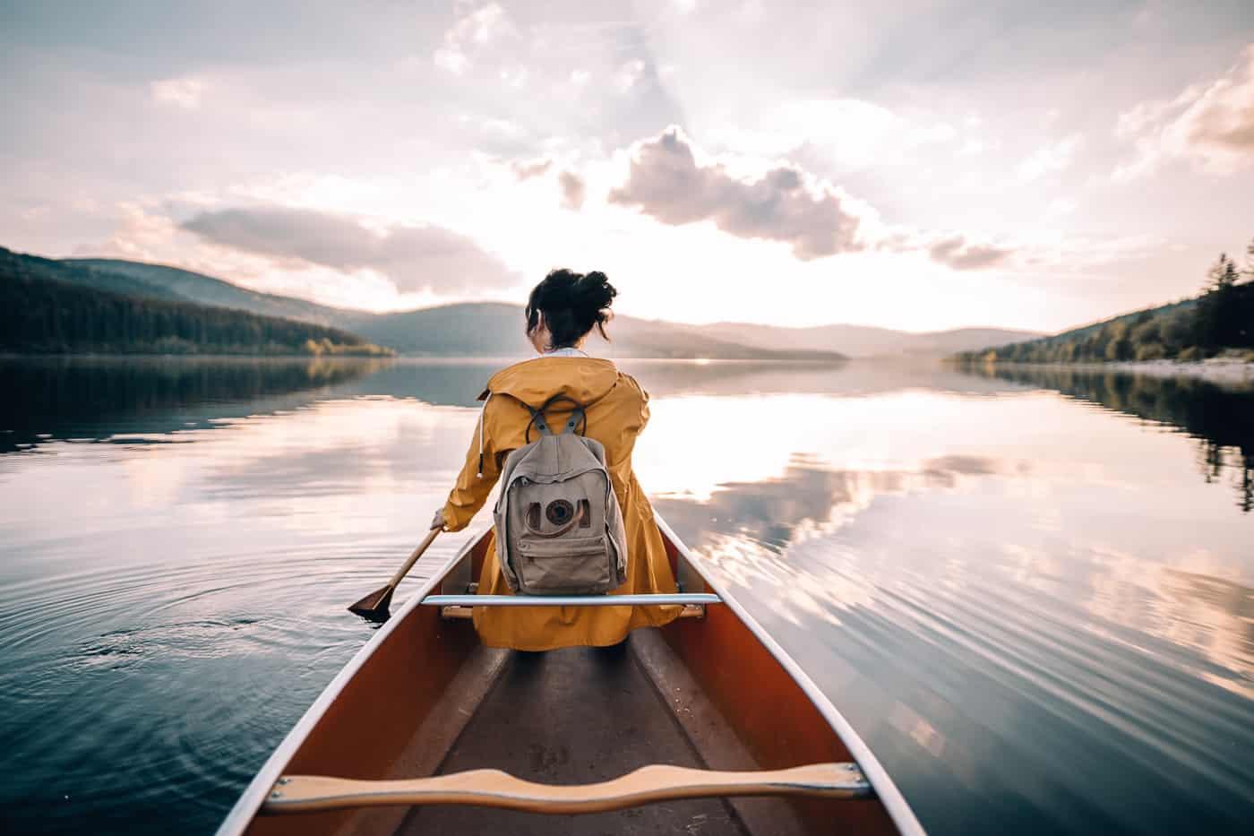 Schluchsee - Glamping Abenteuer im Hochschwarzwald: Kanu fahren RAFFTAFF