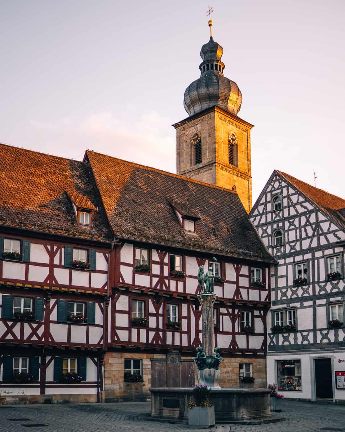 Forchheim in Oberfranken - Rathausplatz