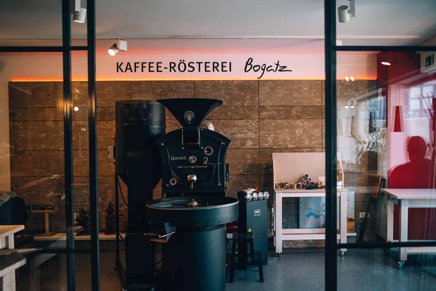 Forchheim in Oberfranken - Kaffee-Rösterei Bogatz