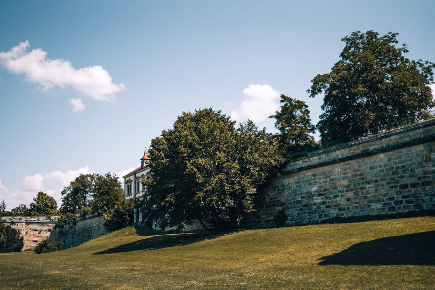 Forchheim in Oberfranken - Park an der Stadtmauer