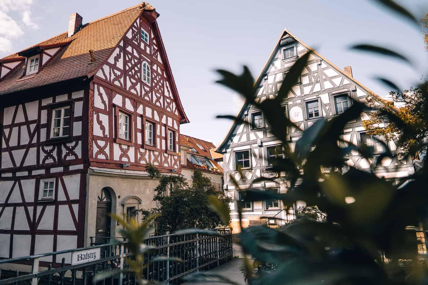 Forchheim in Oberfranken - Klein Venedig / Schiefes Haus