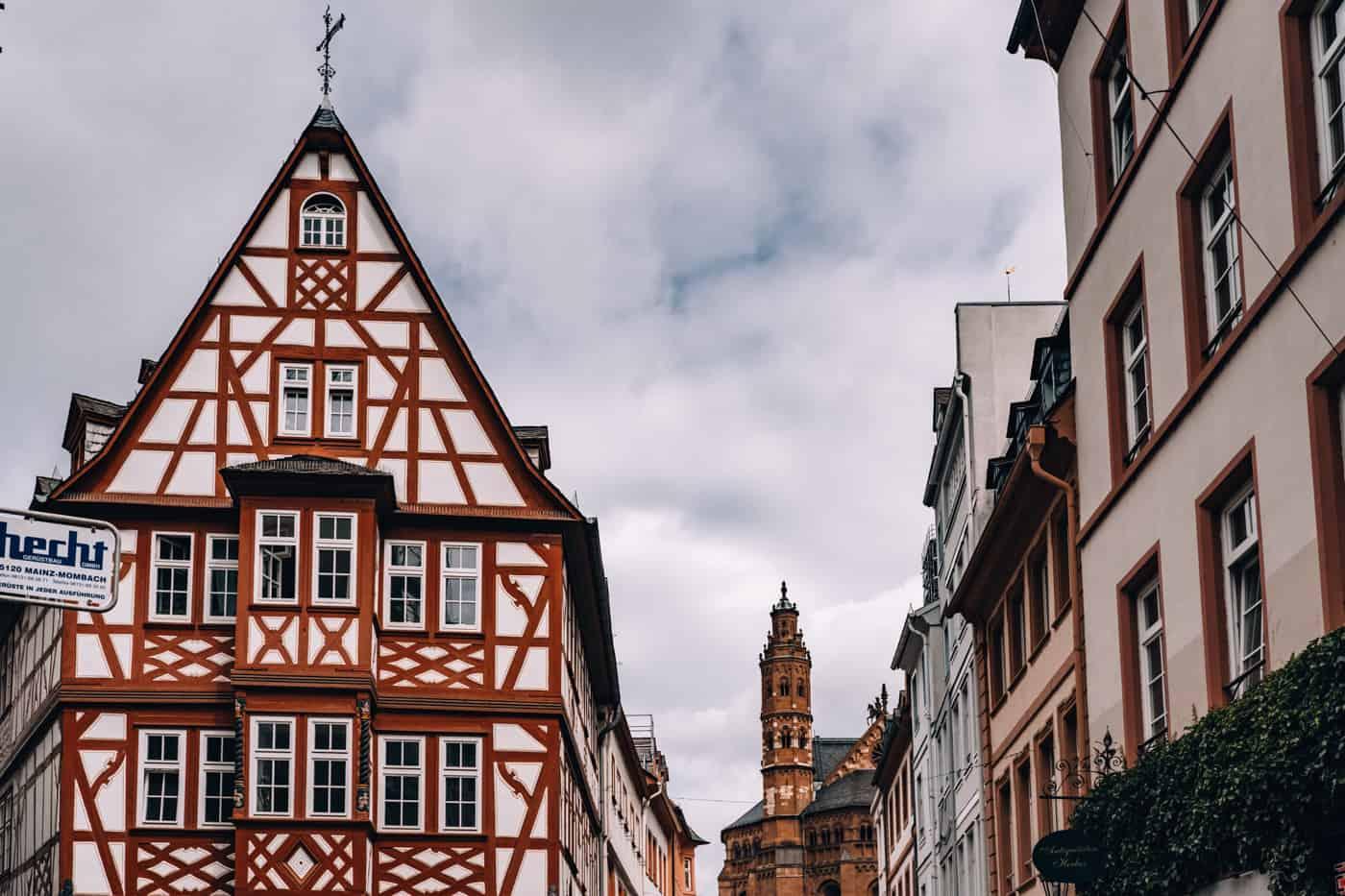 Mainz - Sehenswürdigkeiten, schönste Ecken, Essens- & Insider Tipps: Augustinerstraße