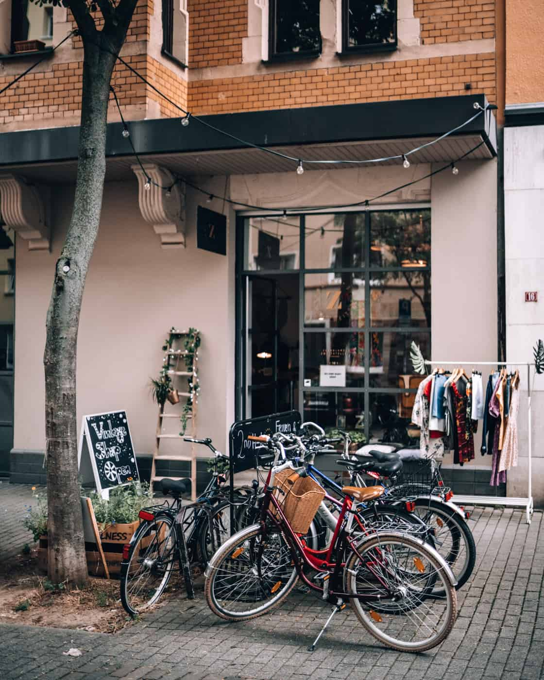 Mainz - Sehenswürdigkeiten, schönste Ecken, Essens- & Insider Tipps: Rund um den Gartenfeldplatz - Zweigstelle Vintage Shop
