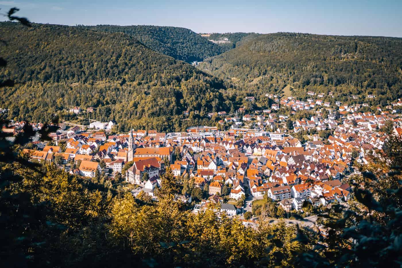 Ausflugsziele Stuttgart #1 - Hohenurachsteig