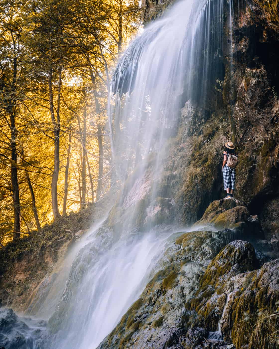 Ausflugsziele Stuttgart: #2 - Wasserfallsteig Bad Urach