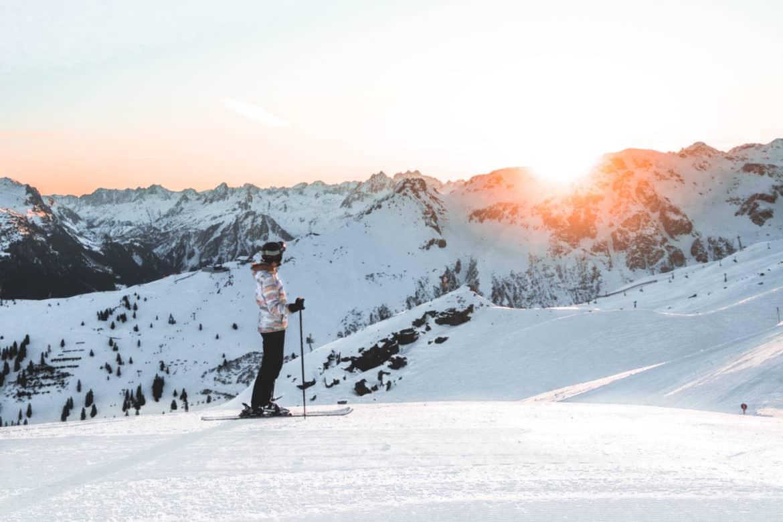 Silvretta Montafon Winterurlaub Skifahren Abenteuer