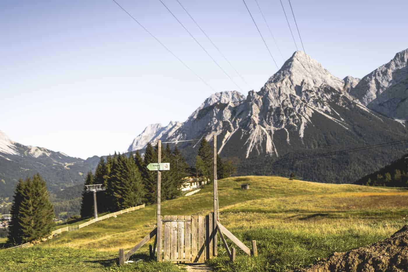 Lermoos - die schönsten Wanderungen & Ausflugsziele in der Zugspitz Region #1 - Grubigstein