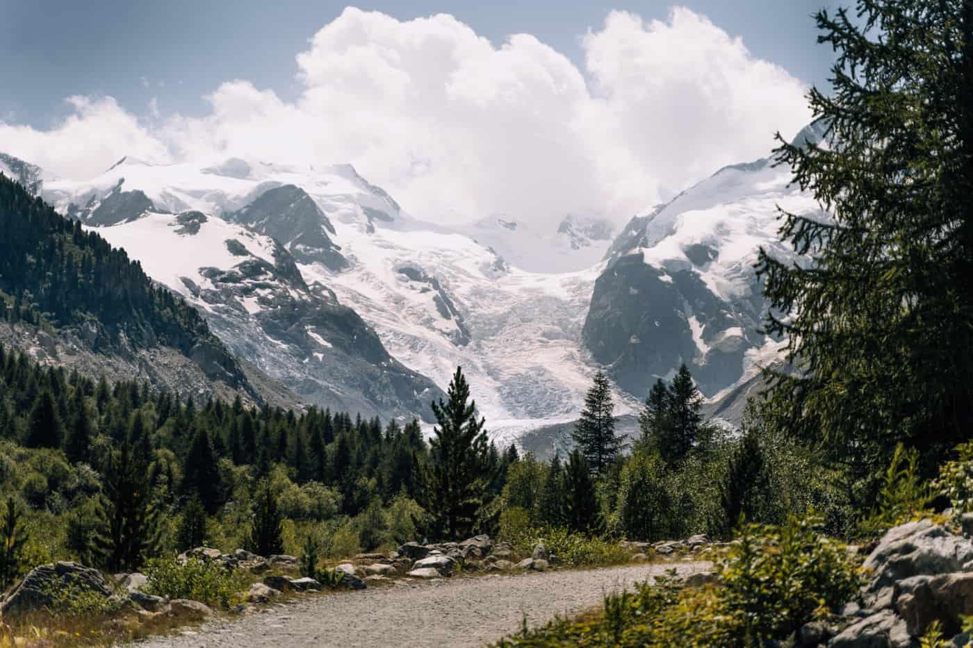 Wandern in Pontresina - 5 unvergessliche Bergtouren: Gletscherweg Morteratsch