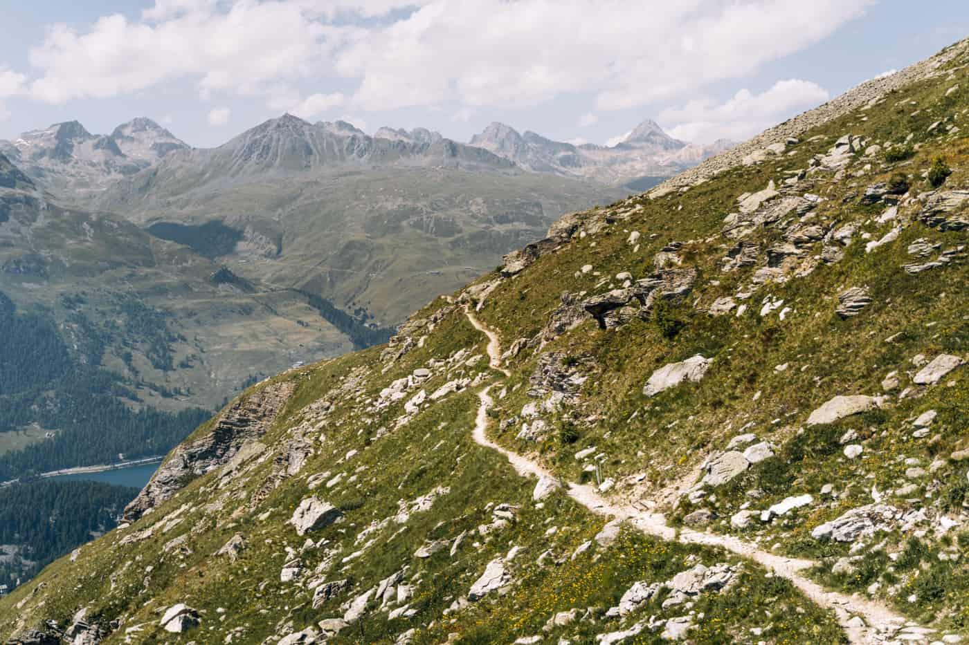 Wandern in Pontresina - 5 unvergessliche Bergtouren: Val Roseg - Fuorcla Surlej - Sankt Moritz