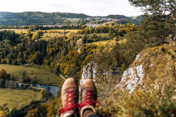 Oberes Donautal - Wandern, Radfahren & Schlafen im Holzfass im Donaubergland