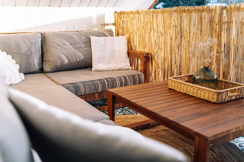 """Terrassenfliesen streichen - Mediterraner DIY """"Zementfliesen""""-Traum mit nichts als ein bisschen Farbe"""