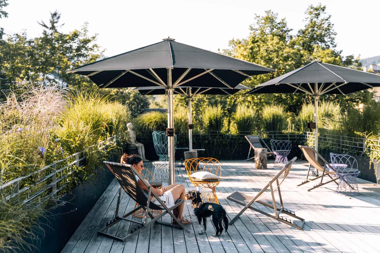 Innsbruck mit Hund - Unterkunft Boutique Hotel Nala