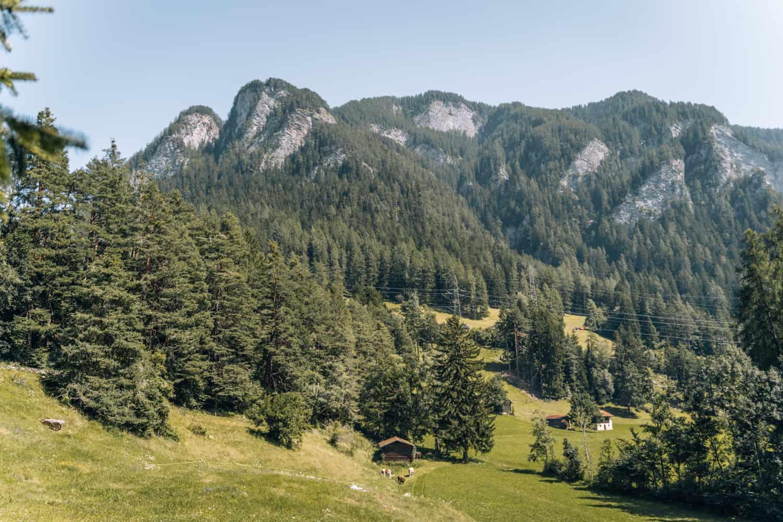 Viamala - Ein Wochenende Digital Detox im Schweizer Bergdorf Feldis: Viamala Schlucht Traversiner Steg