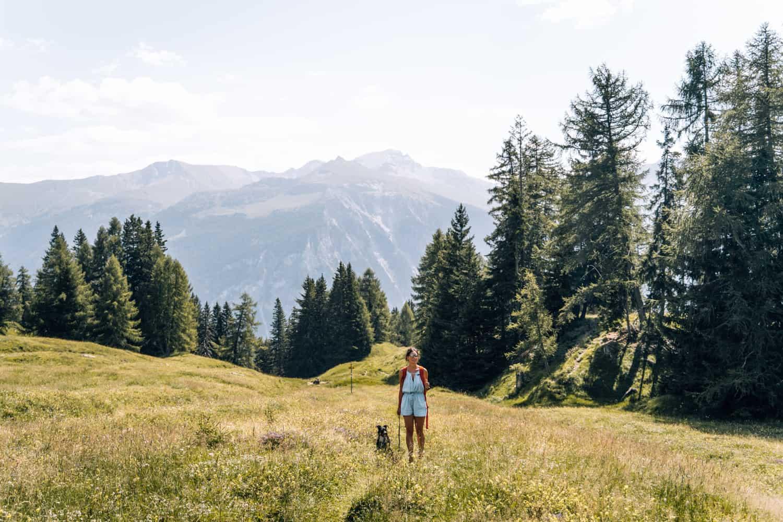 Viamala - Ein Wochenende Digital Detox im Schweizer Bergdorf Feldis: Rundwanderung von Mathon zum Libisee